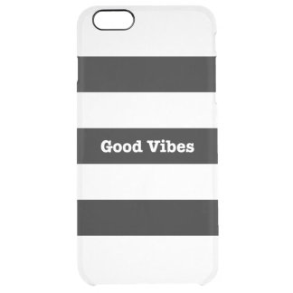 Good Vibes Clear iPhone 6s Plus 6 Plus Custom Clear iPhone 6 Plus Case
