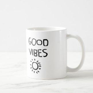 //good vibes mug// basic white mug
