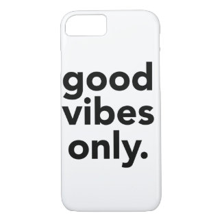 Good Vibes Only iPhone 7 case