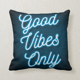 Good Vibes Only - Neon Cushion