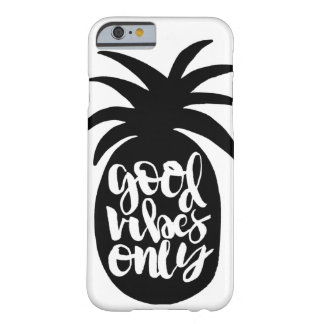 """Good Vibes Only"" Pineapple Phone Case"