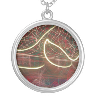 Good Vibrations Round Pendant Necklace