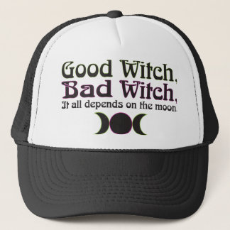 """Good Witch, Bad Witch..."" Caps"