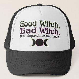 """Good Witch, Bad Witch..."" Caps Cap"