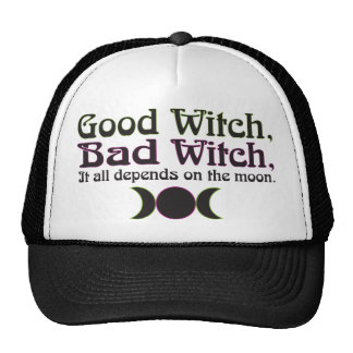 """Good Witch, Bad Witch..."" Caps Cap"