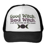 """Good Witch, Bad Witch..."" Caps Trucker Hat"