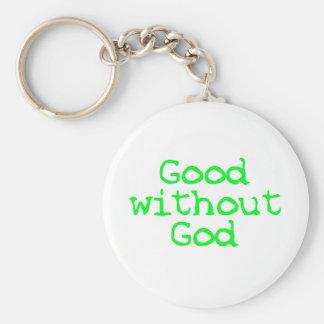 good without god basic round button key ring