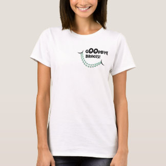 Goodbye Braces Green Hello Big Beautiful Smile T-Shirt