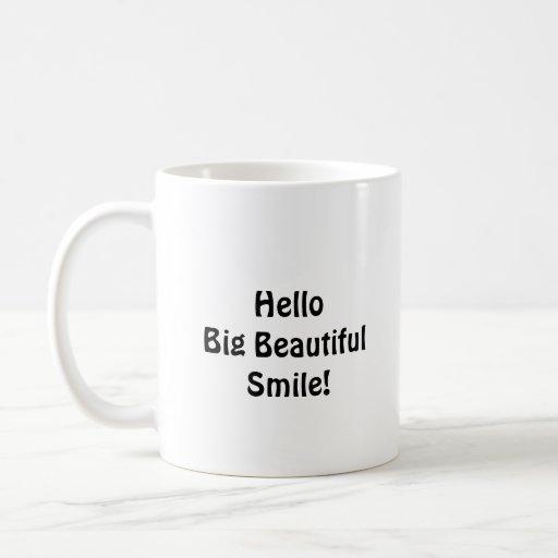 Goodbye Braces Hello Big Beautiful Smile Mug