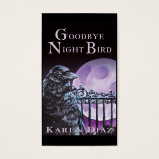 Goodbye Night Bird Business Card
