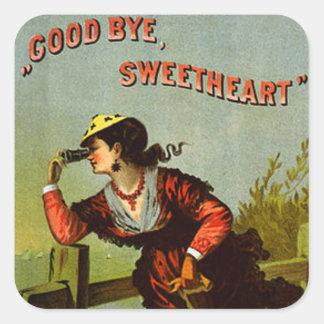Goodbye Sweetheart Square Sticker
