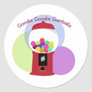 Goodie Goodie Gumballs Stickers
