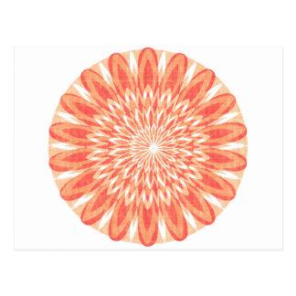 GoodLUCK Charm CHAKRA Sun Sunflower ART GIFTS Postcard