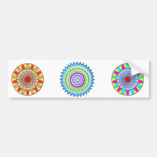 GoodLuck Charm Gifts : Chakra Collection Bumper Sticker