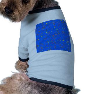 Goodluck Dream Blue Template add Text Image DIY Pet Tee Shirt