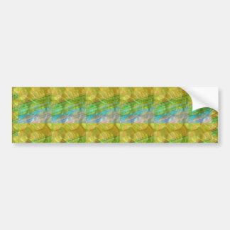 GOODLUCK Golden Green Crystal Beads crystal gifts Bumper Sticker