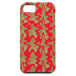 Goodluck Red and Gold Chinese Pattern iPhone 5 Covers