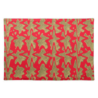 Goodluck Red and Gold Chinese Pattern Place Mat