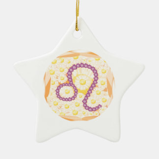 GoodLuck Zodiac Leo Christmas Ornaments