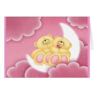 Goodnight Bears! Sleep-Over Invitation Greeting Card