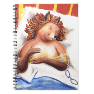 Goodnight diary notebook