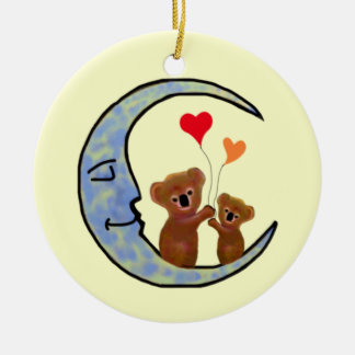 Goodnight Koala Moon Ornament