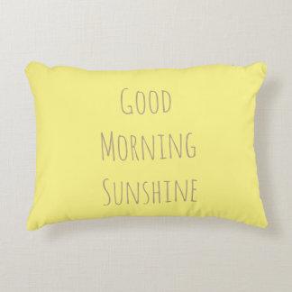Goodnight moon/Good morning sunshine pillow