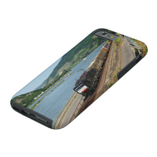 Goods train in ASS one ASS on the Rhine Tough iPhone 6 Case