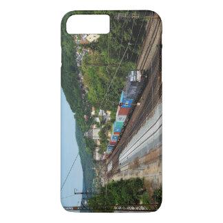 Goods train in Gemünden at the Main iPhone 8 Plus/7 Plus Case
