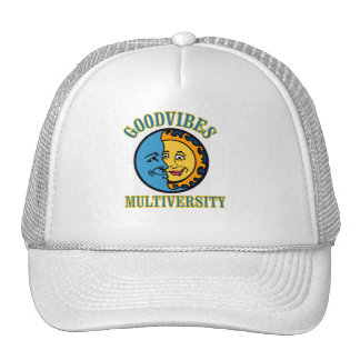 GoodVibes Multiversity trucker's hat