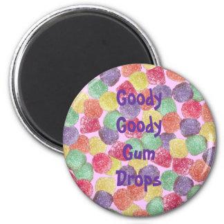 Goody Goody Gumdrops 6 Cm Round Magnet