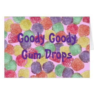 Goody Goody Gumdrops Note Card