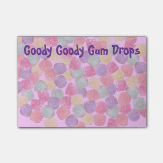 Goody Goody Gumdrops Post-it® Notes