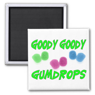 Goody Gumdrops Square Magnet