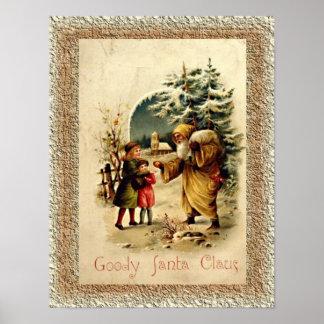 Goody Santa Claus Poster