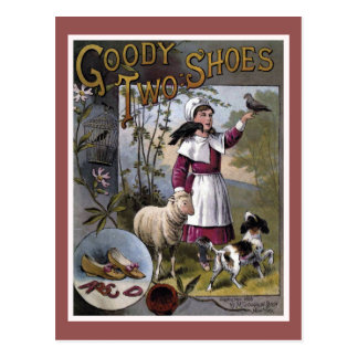 Goody-Two-Shoes Vintage Book Cover Postcard