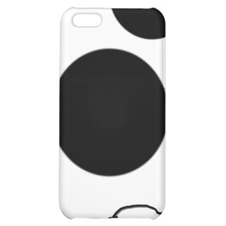 Goof Doodle Nut 0003 black and white Cover For iPhone 5C