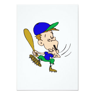 Goofy Batter 13 Cm X 18 Cm Invitation Card