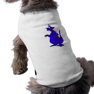 Goofy Blue Dragon Guy png Dog T Shirt