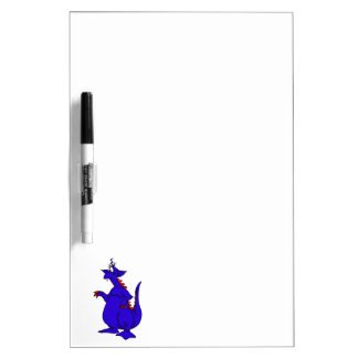 Goofy Blue Dragon Guy.png Dry-Erase Boards