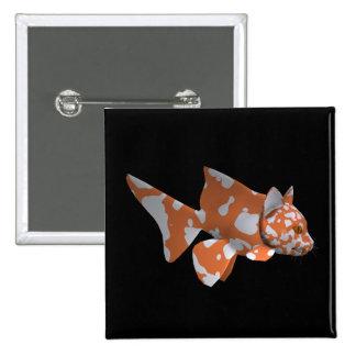 Goofy Catfish 15 Cm Square Badge