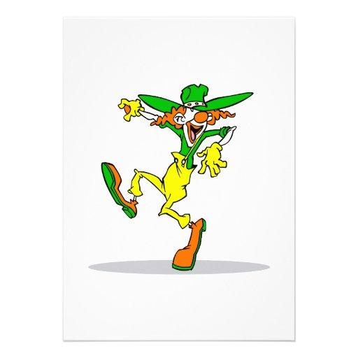 Goofy Clown Custom Invite