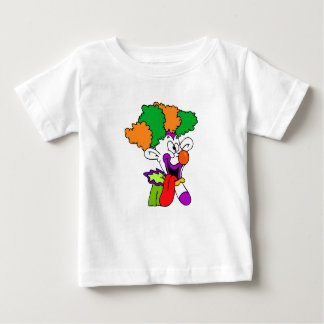 Goofy clown tongue out tee shirt