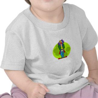 Goofy Clown with Cane Tshirts