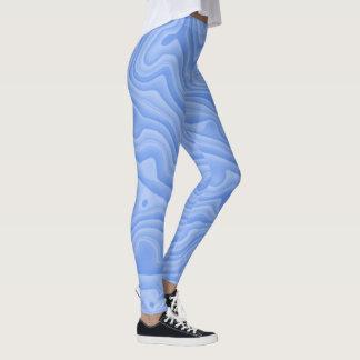 Goofy Cornflower Blue Leggings