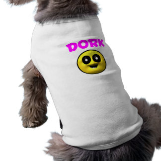 Goofy Dork Face Dog Tshirt