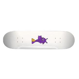 Goofy Dragon Head Custom Skate Board