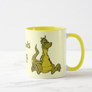 Goofy Dragon Mug