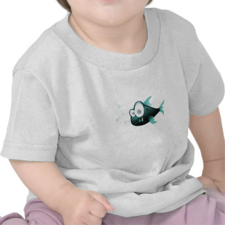 Goofy Fish Baby Tee