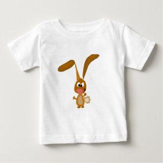 Goofy Funny Bunny Rabbit Art Baby T-Shirt